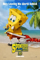 The SpongeBob Movie: Sponge Out of Water (2014) Poster
