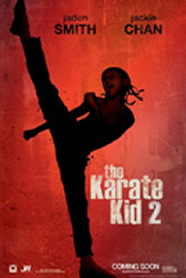 The Karate Kid 2 movie poster